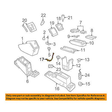 jeep chrysler oem 07 08 patriot front center console wire. Black Bedroom Furniture Sets. Home Design Ideas