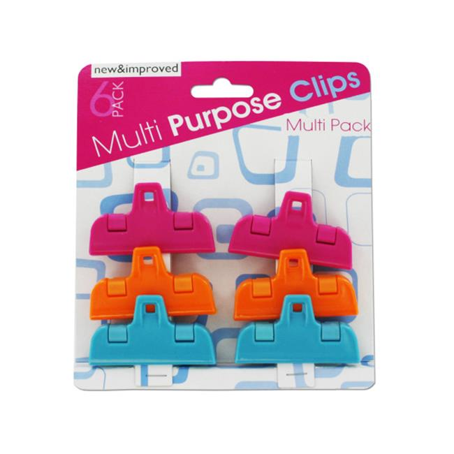 Small multi-purpose clips - Case of 12