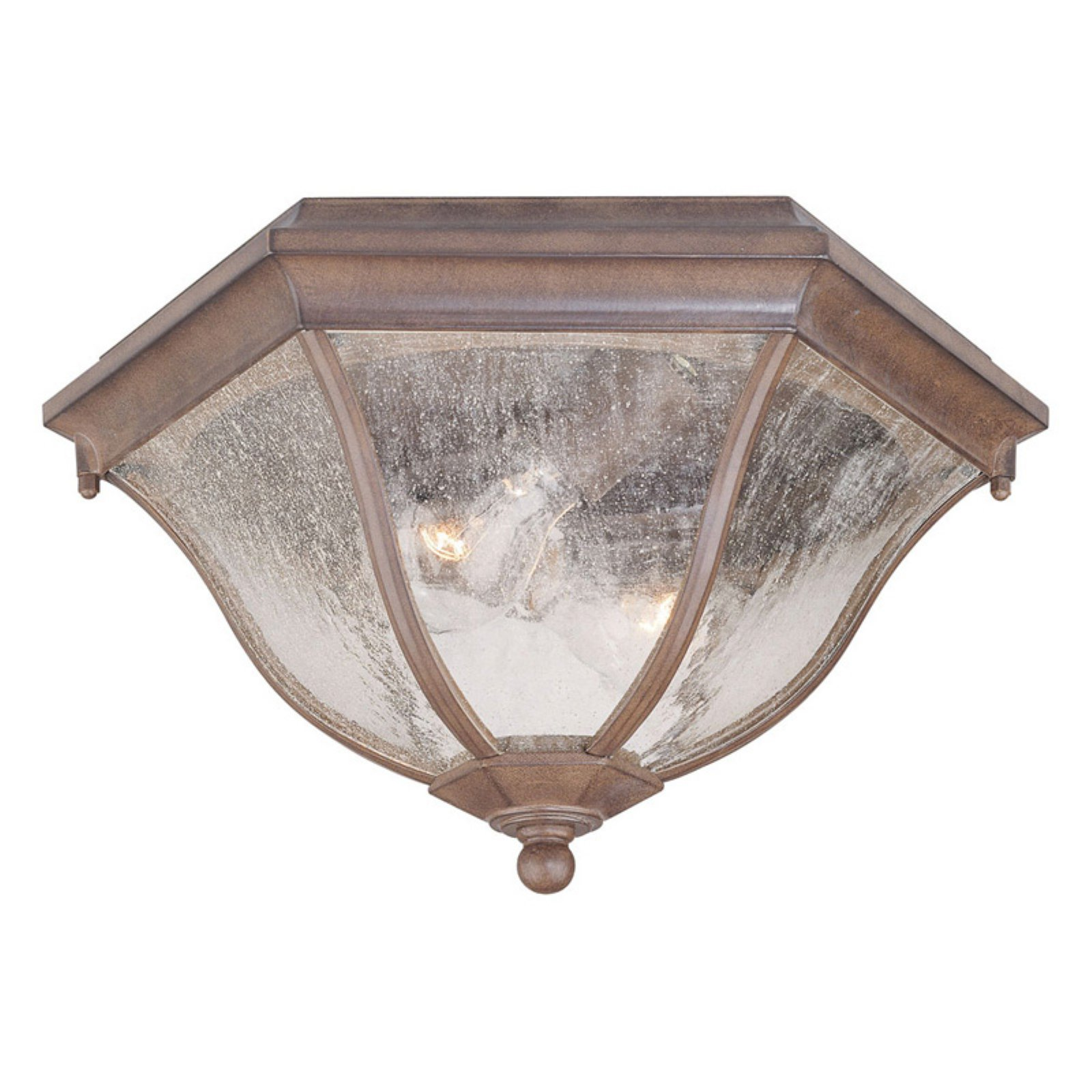 Acclaim Lighting Flushmount 7.75 in. Outdoor Ceiling Mount Light Fixture