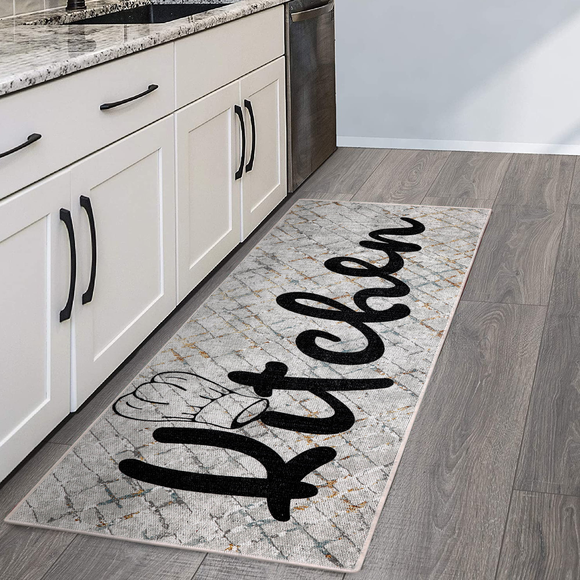 SussexHome Non Skid Washable Kitchen Runner Rug   Ultra ...