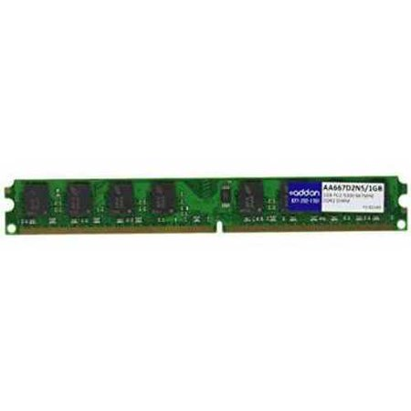Refurbished Memory Upgrade 1GB 667MHZ DDR2 PC2-5300 CL5 ( AA667D2N5/1GB )