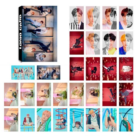 Fancyleo BTS Bangtan Boys Photo Lomo Boxes Small Card Set Gift 30 Pcs/Box - Clothing Gift Boxes