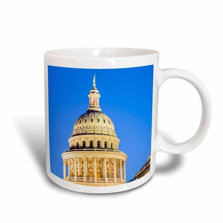 3dRose USA, Texas, Austin. Capitol Building. Statue of the Goddess of Liberty, Ceramic Mug, 11-ounce](Halloween Stores Austin Texas)