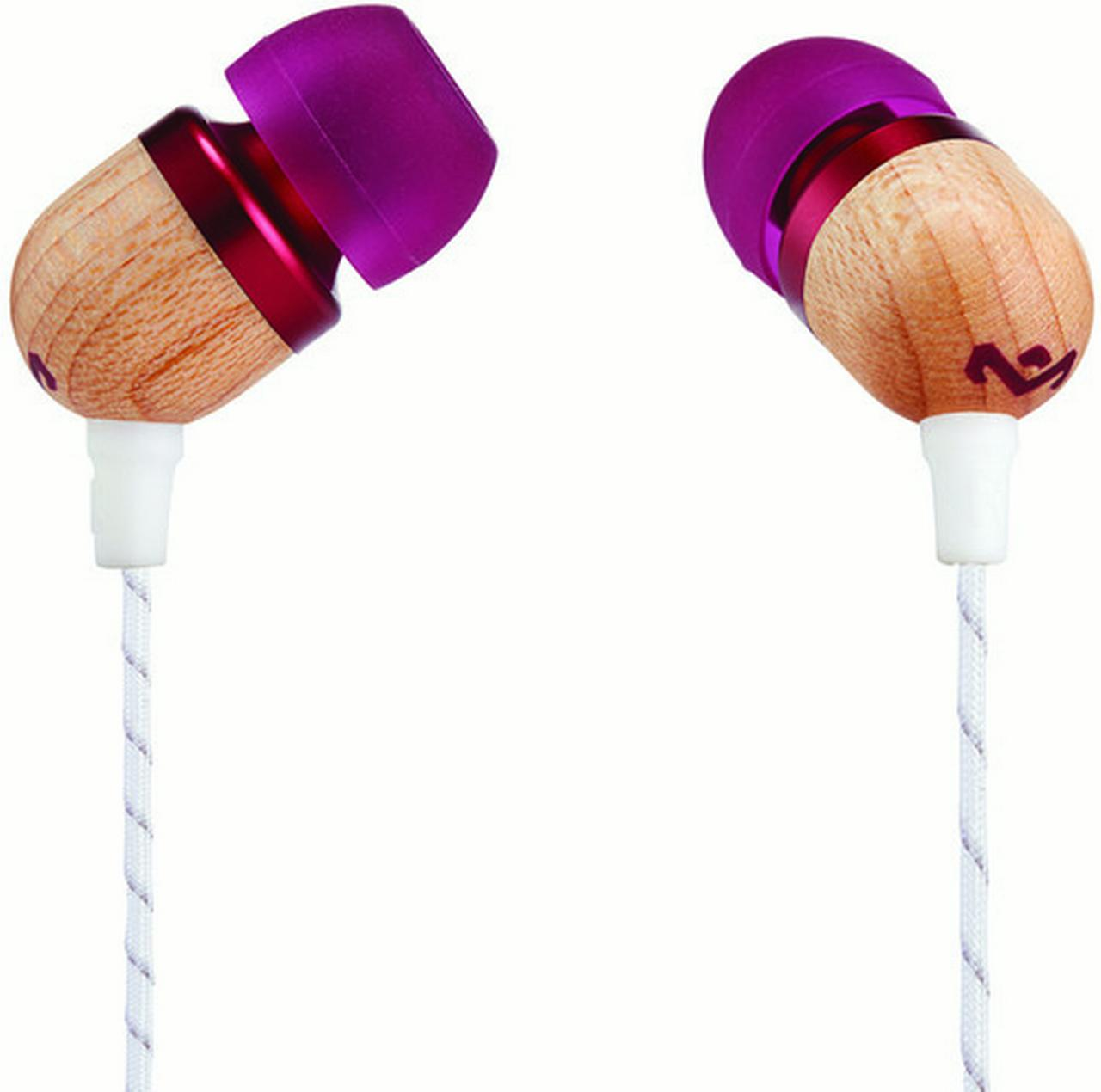 House of Marley Smile Jamaica Earbuds (Purple)