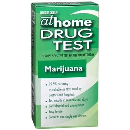 2 Pack   At Home Drug Test Marijuana 1 Each