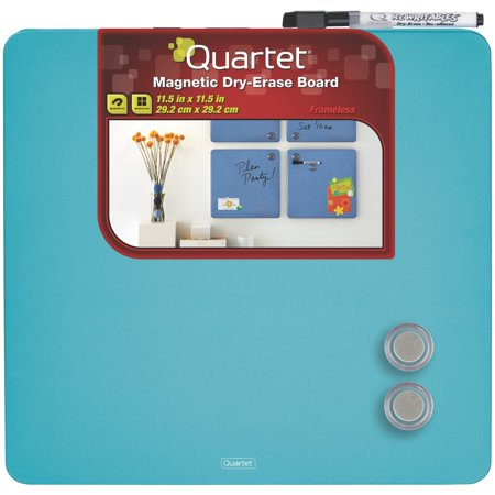 Quartet Tin Square Magnetic Dry Erase Board 11.5x11.5 - Dry-Erase Boards