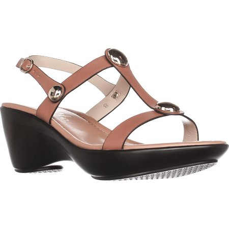 Womens Toggle Open Toe Casual Slingback Sandals