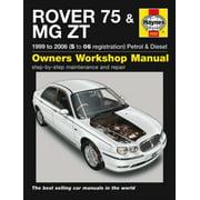Rover 75 & MG ZT Service and Repair Manual (Haynes Service and Repair Manuals) (Paperback)