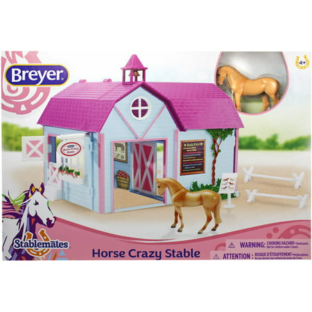 Breyer Small Horse Crazy Stable  Breyer Stablemates