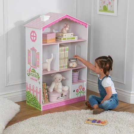 Kidkraft Dollhouse Cottage Bookcase Walmart Com