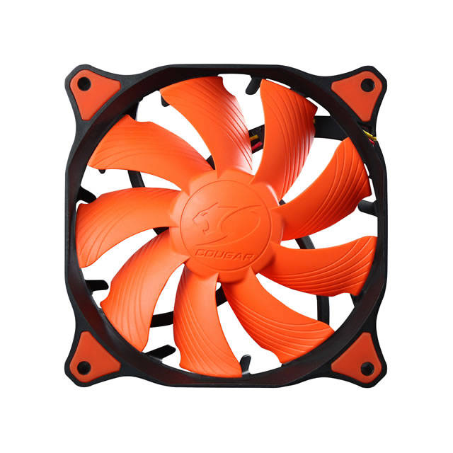 Compucase Enterprises 182432 Compucase Fan Cfv14hp Cougar 14cm Vortex Hdb Pwm 1500rpm Orange