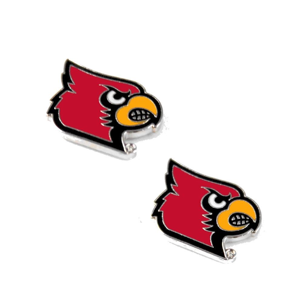 Louisville Cardinals Post/Stud Sports Team Logo Earring Set NCAA Charm Gift