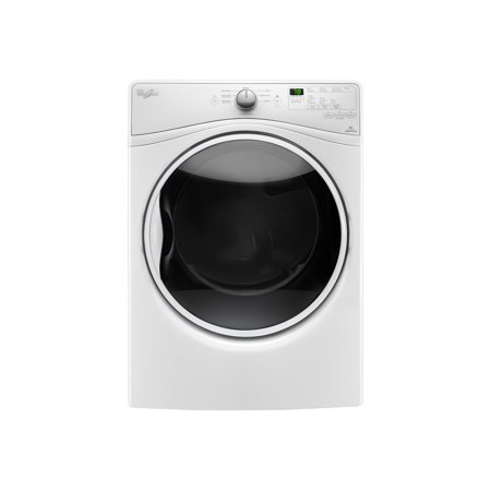 Whirlpool WGD85HEFW - Dryer - freestanding - width: 27 in - depth: 31 in - height: 39 in - front loading - white