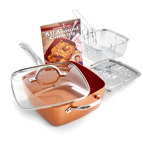 As Seen On Tv! Red Copper Sq Set D14