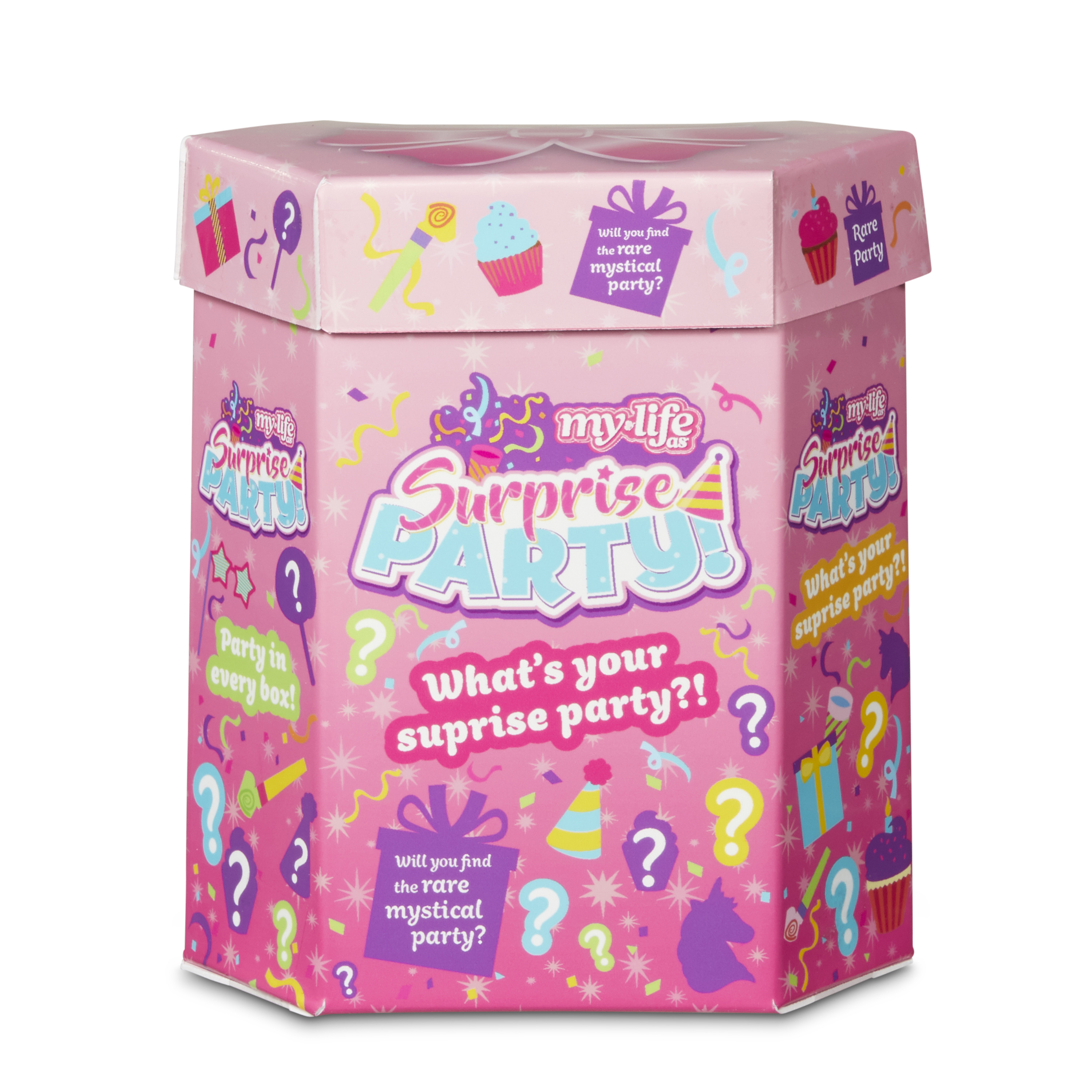 My Life As Surprise Party Box