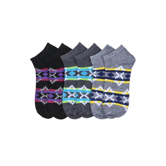 Mopas 70023-TIDY Womens Mamia Spandex Socks, Assorted Color - Size 9 to 11 - Pack of 12 - image 1 de 1
