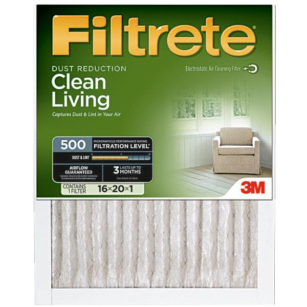 3M Filtrete Clean Living Furnace Filter