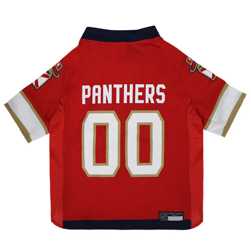Florida Panthers Mesh Hockey Dog Jersey