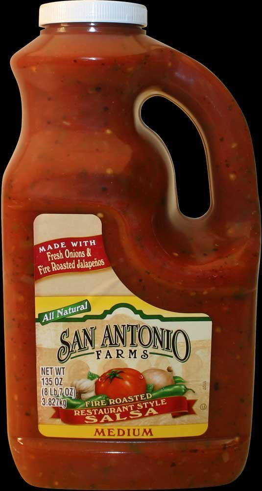 4 PACKS : Bay Valley Foods Roasted Pepper Salsa, 135 Ounce -- 4 per case. by