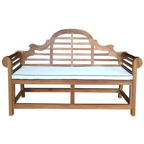 Chic Teak Lutyens Outdoor Bench Cushion by