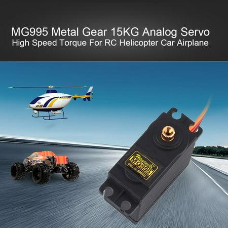 MG995 Metal Gear 15KG Analog Servo High Speed Torque For RC Helicopter Car Airplane High Torque Rc Servo