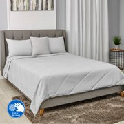 Mainstays Cool-Touch Cooling Bed Blanket, Multiple Sizes