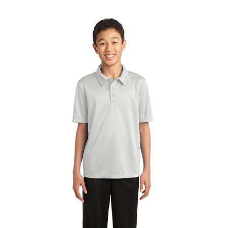 Port Authority Y540 Polo Shirt Youth Silk Touch Performance Polo