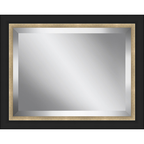 Ashton Wall D cor LLC Bead Framed Beveled Plate Glass Mirror