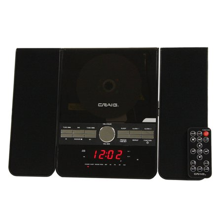 Craig Bt 3 Pieces Cd Shelf System With Dual Alarm Clock Am