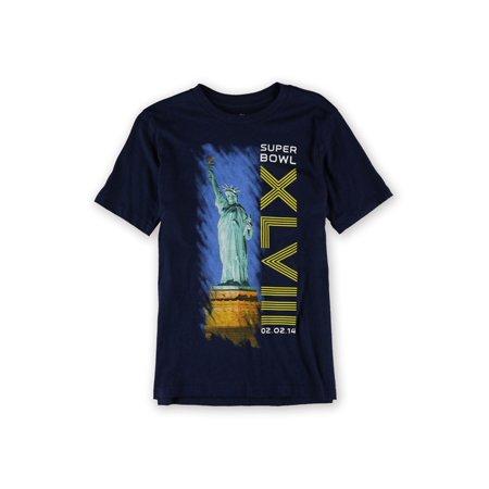 0aac12823bda4 NFL Team Apparel Boys Super Bowl Liberty Play Graphic T-Shirt sb48 L - Big  ...