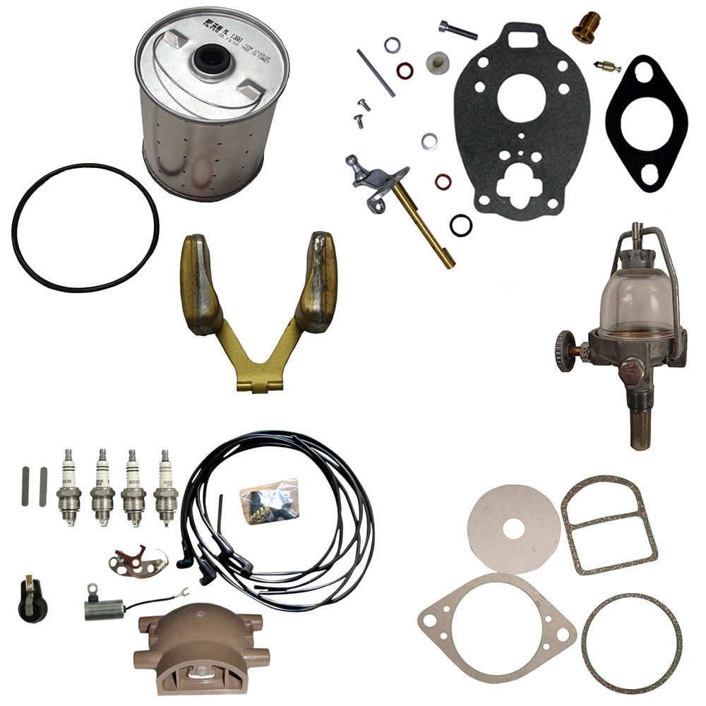 Ignition Tune up kit Ford 9N 2N /& 8N Tractor Front Mount Distributor