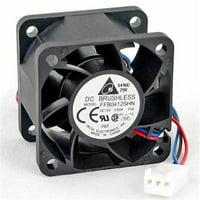 Delta 23-4028-01 40 x 40 x 28 mm. High Speed Ball Bearing Fan