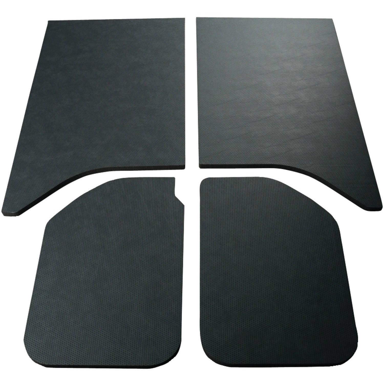 Boommat 050160 Leather-look Sound-Deadening Headliner For 2011 & Up Jeep Wrangler Hard Tops (2 Door) by Boommat