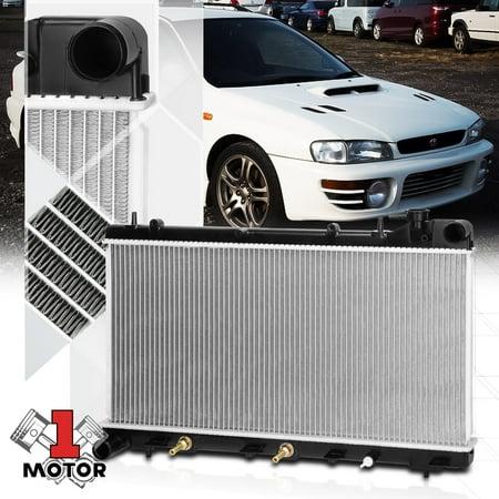 Aluminum Radiator OE Replacement for 93-98 Subaru Impreza 1.8/2.2 AT/MT dpi-1574 94 95 96 97