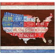 "American License Plate Post Bound Scrapbook, 12"" x 12"""