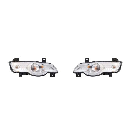 Replacement TYC 17-5265-00-1 Left And Right Side Marker For 2009 Toyota Corolla