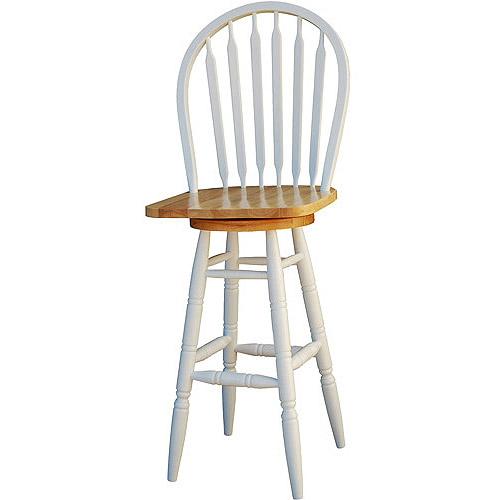 Arrowback Windsor Swivel Bar Stool 30 Quot Multiple Finishes