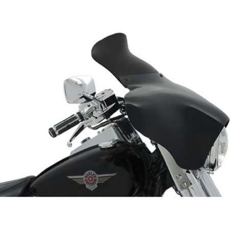 Memphis Shades MEP84110 6.5in. Spoiler Windshield for Memphis Shades Batwing Fairings - Dark (Memphis Shades Batwing Fairing Spoiler Windshield Review)