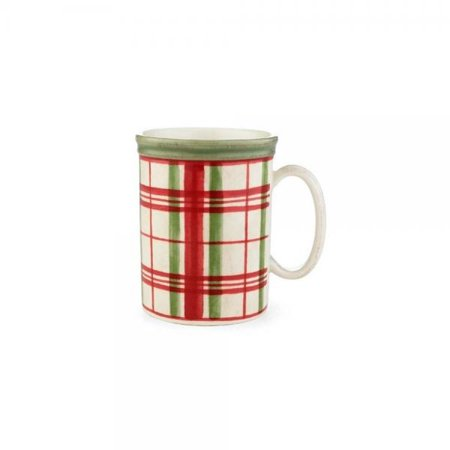 Lenox Holiday Gems - Lenox Holiday Gatherings Plaid Mug