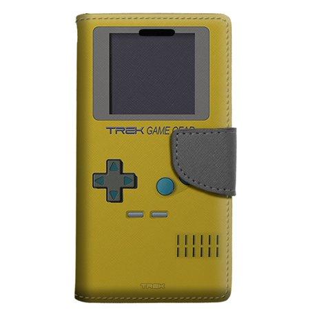 Samsung Galaxy Note 8 Wallet Case - Old School Retro TREK™ Game Gear Yellow  Case