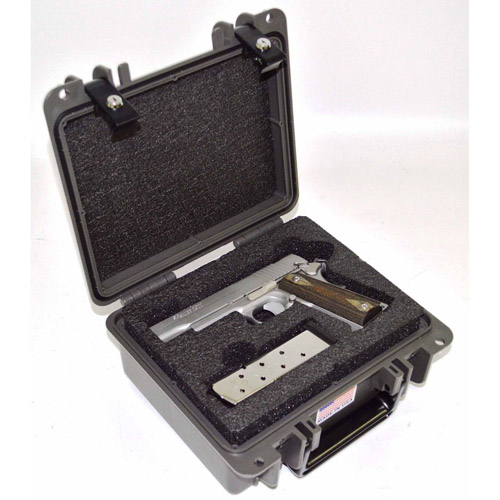 Quick Fire MultiFit 1 Pistol Case with Keyed Locking Latches