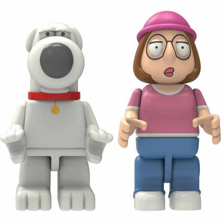 K'NEX Family Guy Buildable Figures: Brian & Meg Griffin