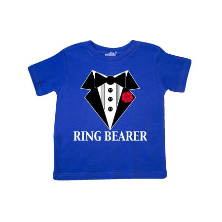 Toddler Ring Bearer - Tuxedo Ring Bearer Toddler T-Shirt