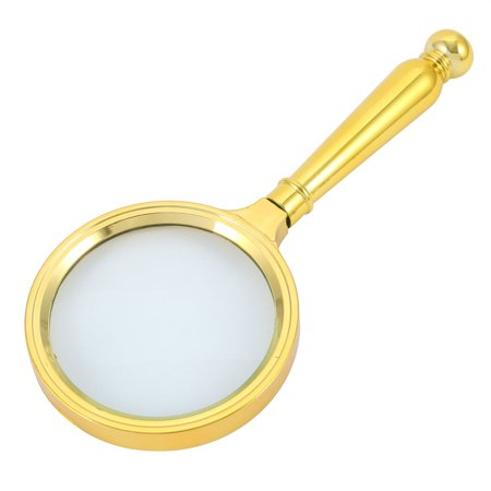 Handheld Magnifier Magnifying Glass Reading Illuminated Magnifier 10X w Handle - image 2 de 2