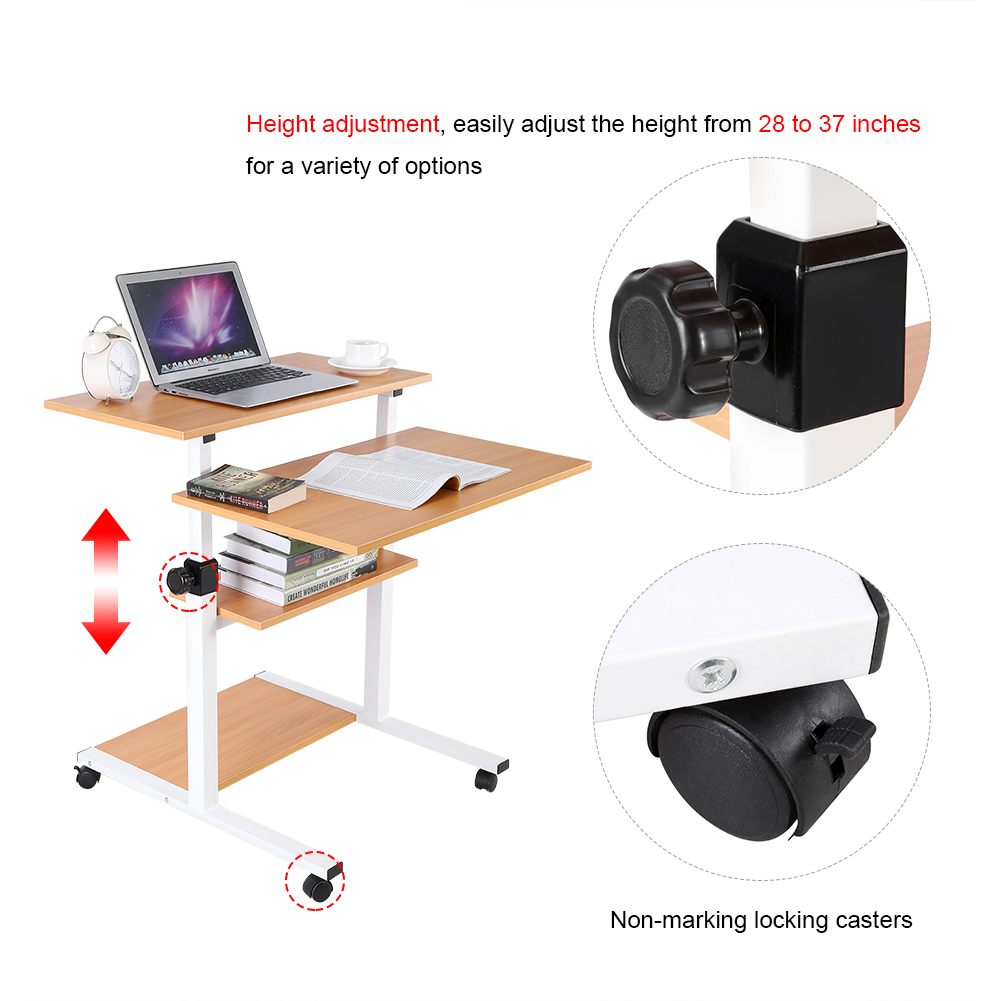 66cm Desktop Beech Easel Adjustable Light Weight Wood Table Top Wedding Display