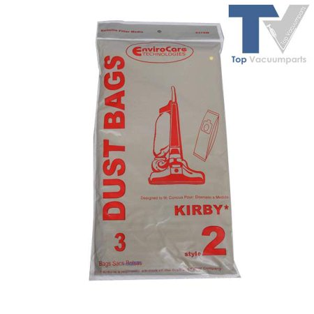 Kirby Style 2 Envirocare Upright Vacuum Cleaner 3pk Paper