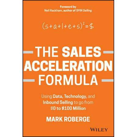 the sales acceleration formula hardcover walmart com
