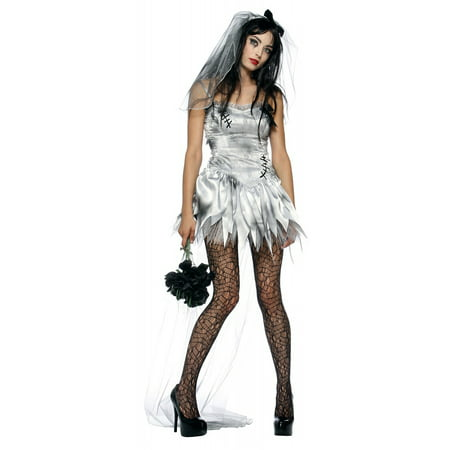 Zombie Bride Adult Costume - X-Small](Zombie Bride Costumes)