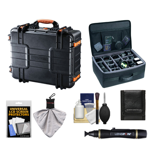 Vanguard Supreme 46F Heavy Duty Waterproof, Airtight & Dustproof Professional Hard Case with Foam Interior + Divider Bag... by VANGUARD
