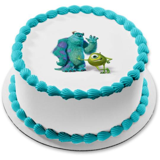 Prime Monsters Inc Image Photo Cake Topper Sheet Personalized Customized Personalised Birthday Cards Veneteletsinfo